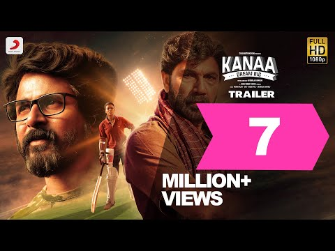 Kanaa - Official Trailer | Aishwarya Rajesh, Sathyaraj, Darshan | Arunraja Kamaraj | Sivakarthikeyan