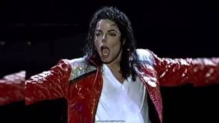 Michael Jackson Beat It Live Auckland 1996 HD