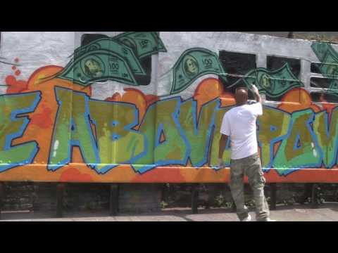 TATS CRU  THE MURAL KINGS  T.R.A.P To Rise Above Poverty