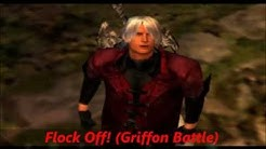 Devil May Cry 1- Flock Off!(Griffon Battle)(Extended)
