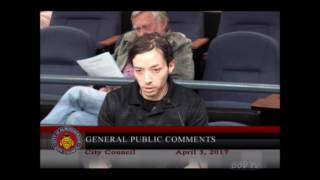 """""""Mark Sargent"""" speaks at Albuquerque City Council meeting about NASA - Flat Earth ✅"""