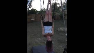 Gymnastics rings & aerial conditioning - Lauren Watson