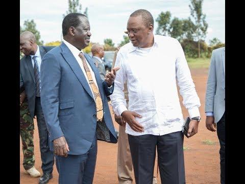 Kenyatta-Odinga Axis on 2022 politics following their handshake