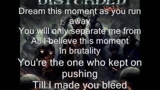 Disturbed - This Moment with lyrics
