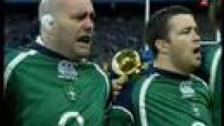 Ireland's call Anthems at Croke Park Flannery's tears