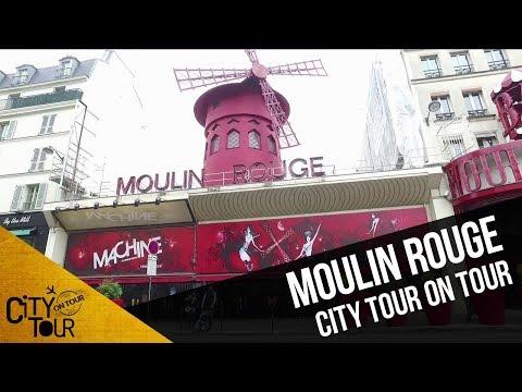 Conoce la historia del Moulin Rouge  City Tour On Tour en París