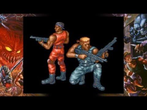 Contra Anniversary Collection Retro gaming |