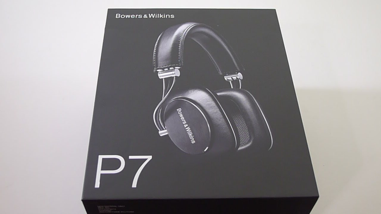9203ca907a3 First Look: Bowers & Wilkins (B&W) p7 Mobile Hi-Fi Headphones - YouTube