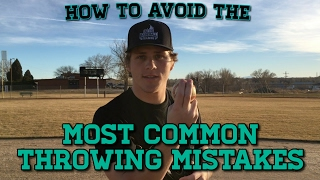 How To: AVOID The Most Common THROWING MISTAKES! - Baseball Throwing Fundamentals!
