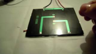 Mini panel solar monocristalino epoxy 85X60 mm video