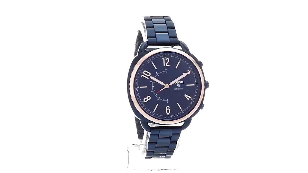 Fossil Q Accomplice Slim Hybrid Smartwatch Ftw1203 Sku8930257 Jam Set