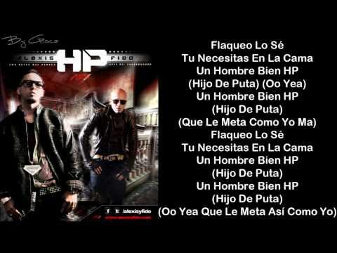 Alexis & Fido - Hp - Letra