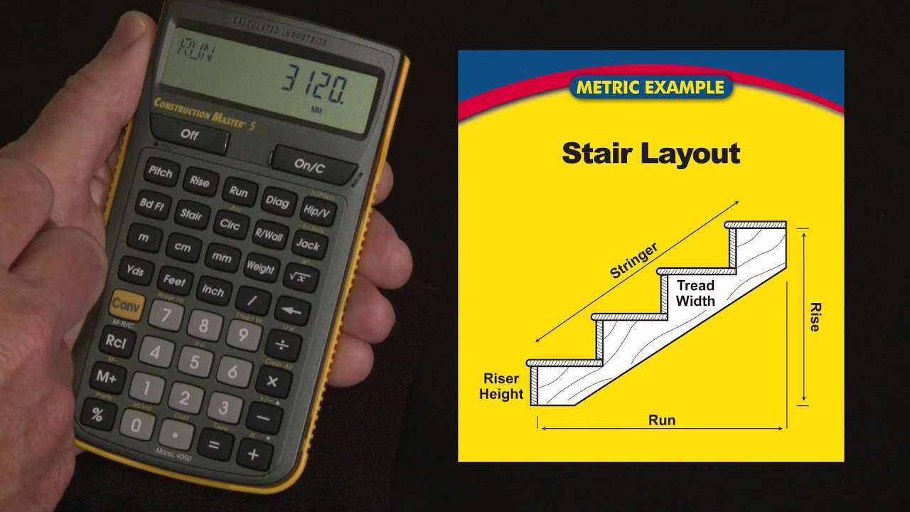 Stair tread calculator interesting stair calculator with for Build my home calculator