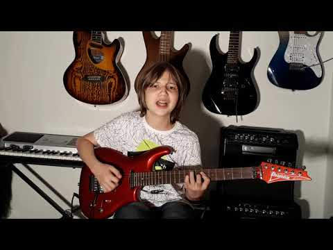 Dustin Tomsen 14 yr old covers Deep Purple