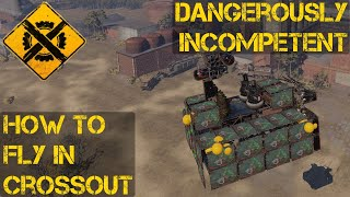 How to Fly In Crossout: The Flying Present Garage Inspection