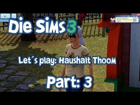 let s play die sims 3 haushalt thoom part 3 omi leonie. Black Bedroom Furniture Sets. Home Design Ideas