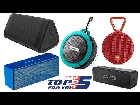 Top 5 Best Portable Bluetooth Speaker Under 50 Dollars (2018)