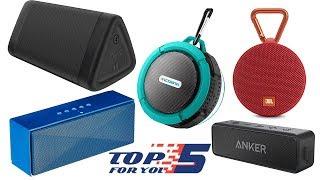 Video Top 5 Best Portable Bluetooth Speaker Under 50 Dollars (2018) download MP3, 3GP, MP4, WEBM, AVI, FLV Juli 2018