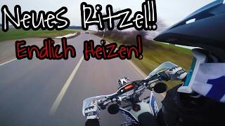 Supermoto Vlog   Endlich wieder Heizen!   Neues Ritzel   KTM EXC 125