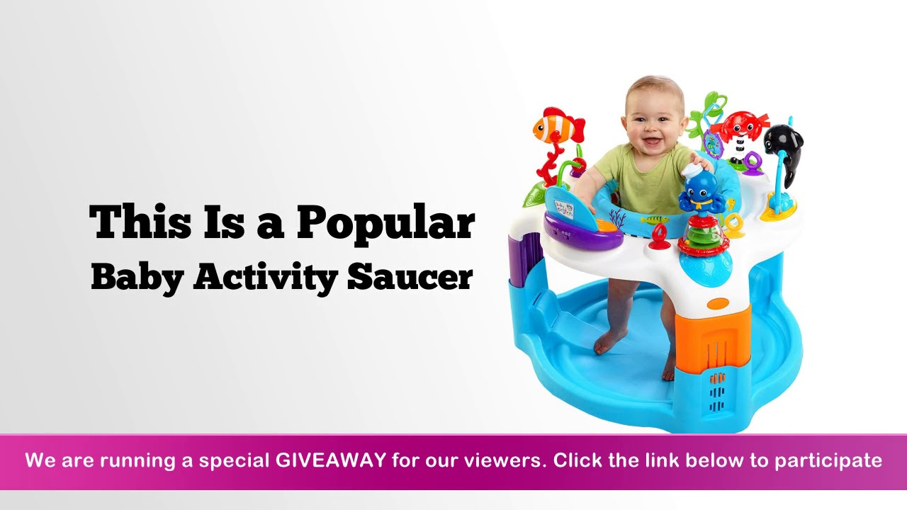 6a9956965 Baby Einstein Rhythm Of The Reef Activity Saucer Review