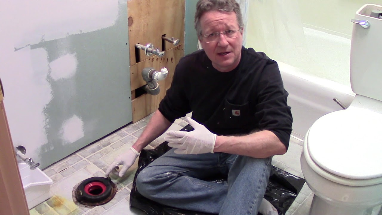 How To Replace A Toilet Wax Ring Or Wax Free Toilet Seal