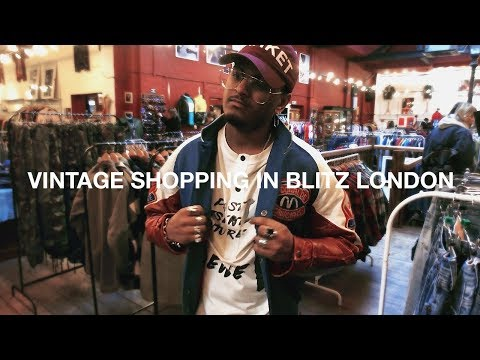 Vintage Shopping in Blitz London
