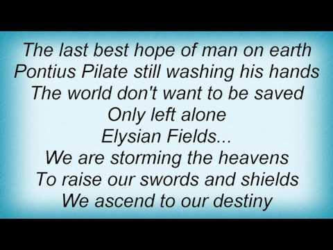 Megadeth - Elysian Fields Lyrics