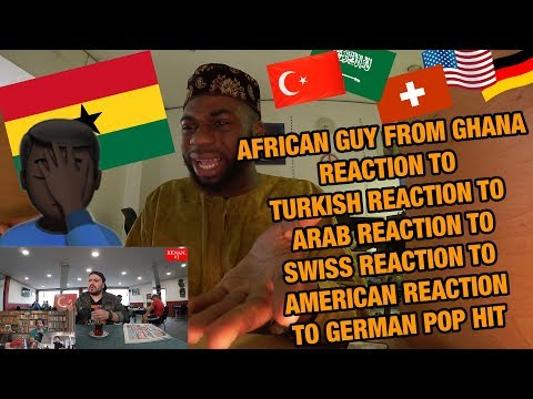 AFRICAN GUY REACTS TO REACTIONS TO GERMAN POP HIT I Namika - Je ne parle pas francais feat. Black M