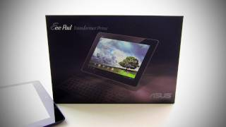 Asus Transformer Prime Unboxing (Quad Core Android 4.0)
