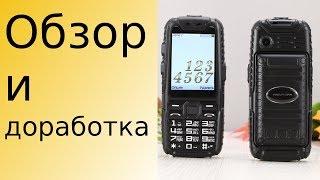 Обзор Телефона A6 / M6 - Mafam / Lend Rover / GuoPhone и доработка микрофона