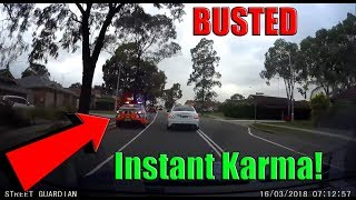 COPS VS DRIVERS | Busted by Police |  INSTANT KARMA Videos of 2019 & Traffic Fails