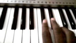 Bruno Mars - All She Knows piano tutorial