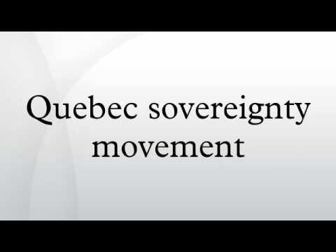 Quebec sovereignty movement