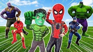 헐크로 변신한 지환이와  신나는 댄스! Let's dance excitingly with Jihwan transformed into a Hulk.