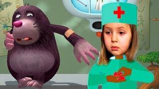 ЛЕСНЫЕ ЗВЕРЯТА НА ПРИЕМЕ У ДОКТОРА Больница для маленьких зверят ИГРАЕМ В ДОКТОРА kids children