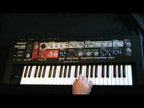 Keyboard/Piano Lesson Jazz Fusion Scale Solo Roland SH201