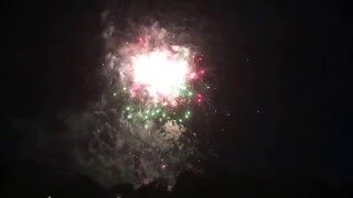 2016 New Year Fireworks at the Melbourne Cricket Ground