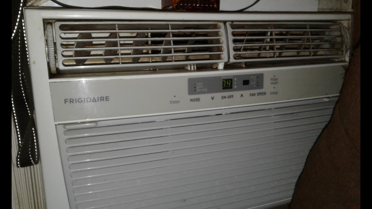 how to clean and service window ac unit without removing from wall - Frigidaire Ac Unit