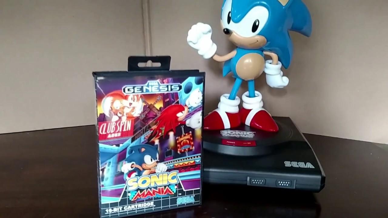 Sonic Mania Sega Genesis Box Youtube