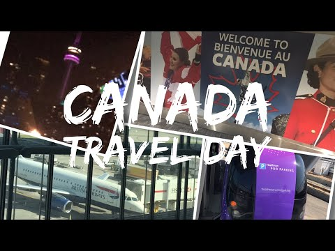 Canada Trip Vlog - August 2017 - Day 1 - Travel Day (London To Toronto)