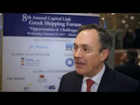 8th Annual Greek Shipping Forum Interview-Gust Biesbroeck