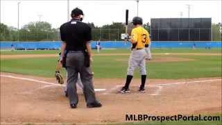 Blue Jays RHP Justin Jackson vs Pirates SS Max Moroff - Minor League Spring Training 2013