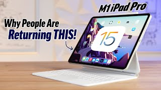 How Apple JUST Ruined the M1 iPad Pro with iPadOS 15..