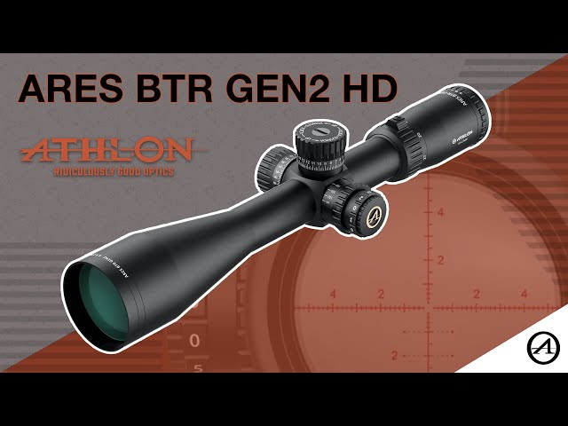 Athlon Optics Ares BTR GEN2 HD