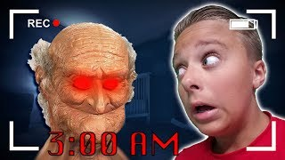 Scary 3 AM Challenge In My Haunted House!! ft Marissa and Brookie