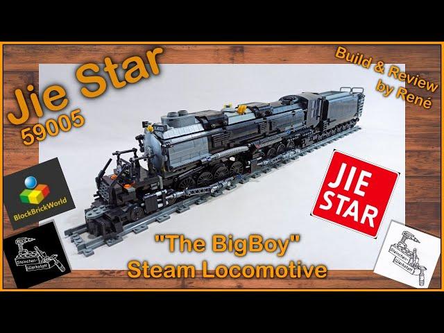 75cm lang ... ist die Dampflok | BigBoy von JieStar | 59005