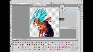 Como mudar a cor de um png no PhotoShop Cs6