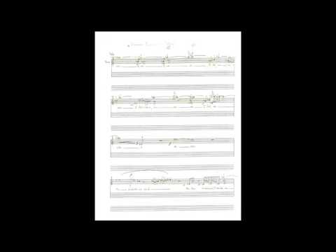 "Gustavo Flores Ortega; ""SOMETIMES"" by Olly Wilson (Original Score Following the Performance)"