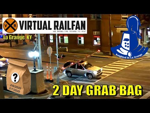 Virtual Railfan Grab Bag For February 6-7, 2020! And, Another Knighting In La Grange, KY!