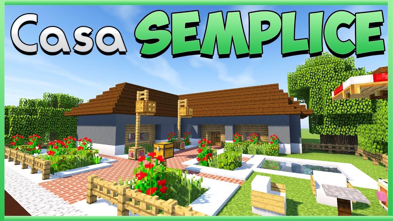 Come costruire una casa minecraft ita youtube for Casa moderna minecraft ita download